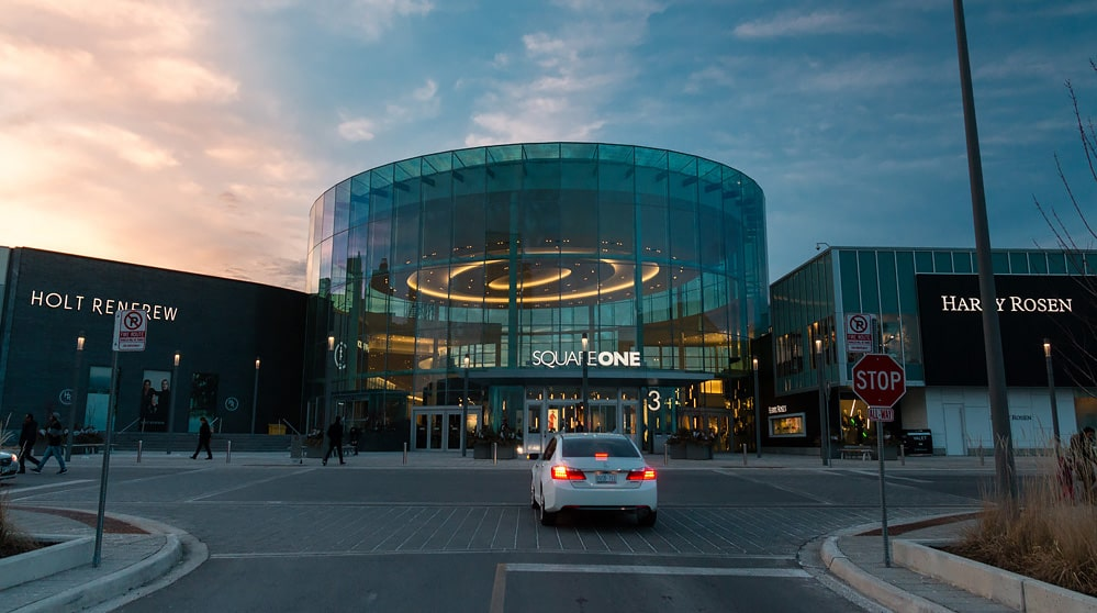 Square One Mall in Mississauga